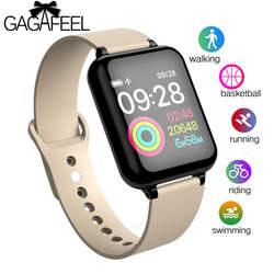 B57 Для мужчин Для женщин Спорт Смарт часы IP67 Smartwatch монитор сердечного ритма крови Давление часы наручные для huawei samsung Xiaomi телефон