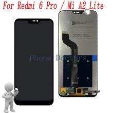 5.84 For Xiaomi Mi A2 Lite M1805D1SG Full LCD DIsplay + Touch Screen Digitizer Assembly For Xiaomi Redmi 6 Pro M1805D1SE