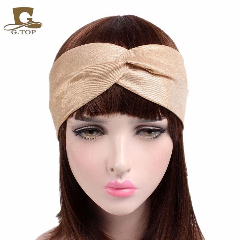 b6255dc00c0 Buy glitter stretch headband and get free shipping on AliExpress.com