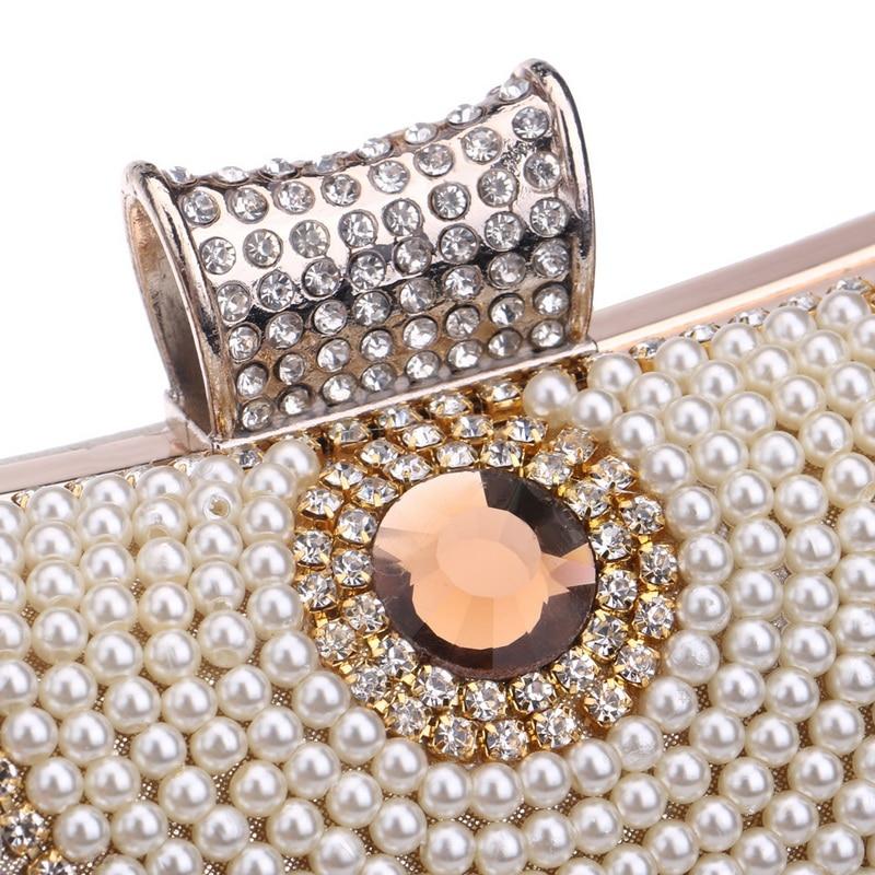 Diamantes de imitación de la borla Embrague Diamantes Con cuentas de - Bolsos - foto 6