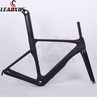LEADXUS GAM180 GAM180H Normal Or Hidden Brakes Aero Carbon Fiber Bicycle Frame Road Aero Bike Carbon Frame 49/52/54/56/58cm