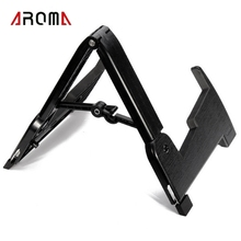 Aroma AGS-02 Foldable Stand A-frame Holder Bracket Musical Instruments Stand For Acoustic Guitar Bass Parts & Accessories