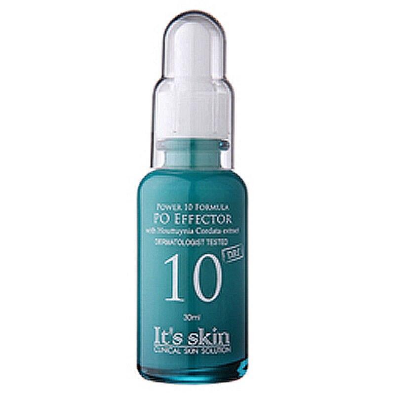 IT'S SKIN Power 10 Formula PO Effector [ Pore Care ] Face Cream Serum Essence Shrink Pores Control Oil Whitening Moisturizing