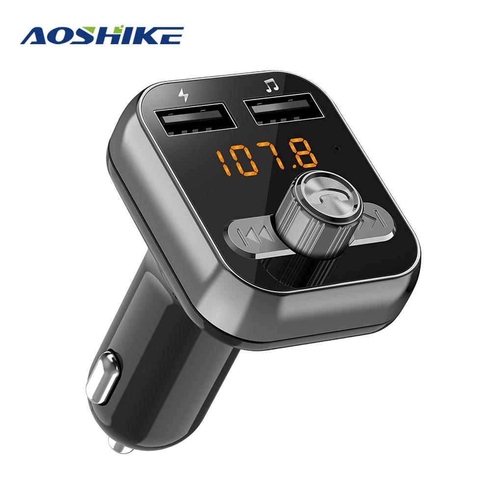 3.1A 3USB Car Charger Bluetooth FM Transmitter Modulator for Car Phone Tablet US
