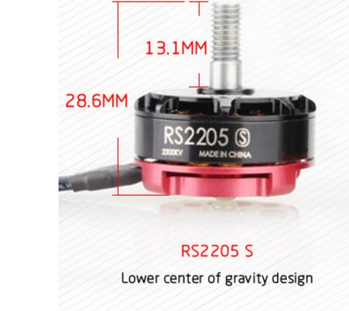 цена на Emax RS2205 S 2300KV 2600KV Cooling Brushless Motor Fit Quad FPV QAV250 Drone