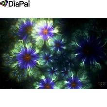 DIAPAI Diamond Painting 5D DIY 100% Full Square/Round Drill Flower landscape Diamond Embroidery Cross Stitch 3D Decor A24235 diapai diamond painting 5d diy 100% full square round drill flower landscape diamond embroidery cross stitch 3d decor a24411