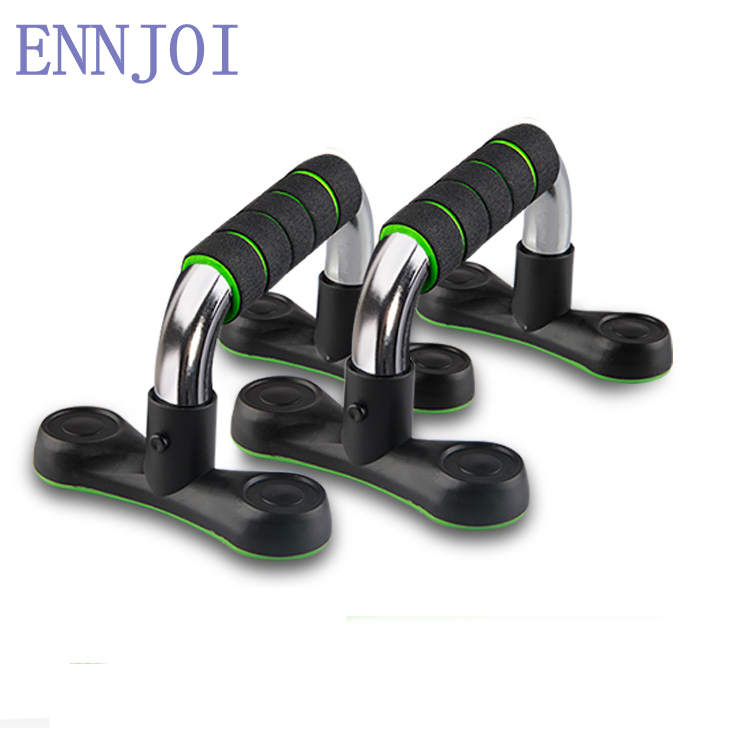 2018 hot a pair of detachable strong bearing capacity I shaped Push ups stands Home fitness equipment Muscle training apparatus