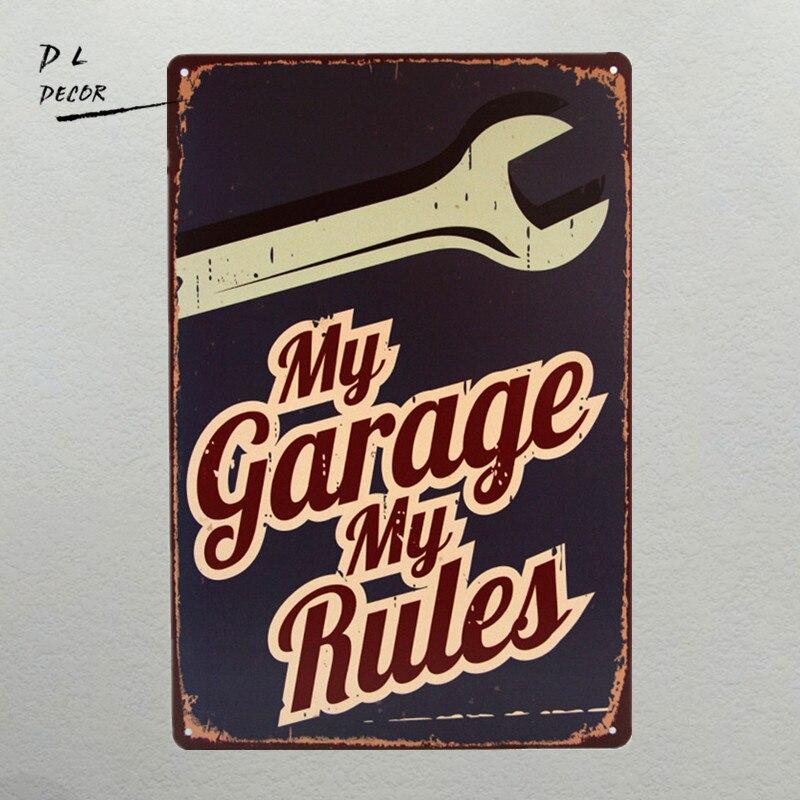 DL-My Garage My Rules…