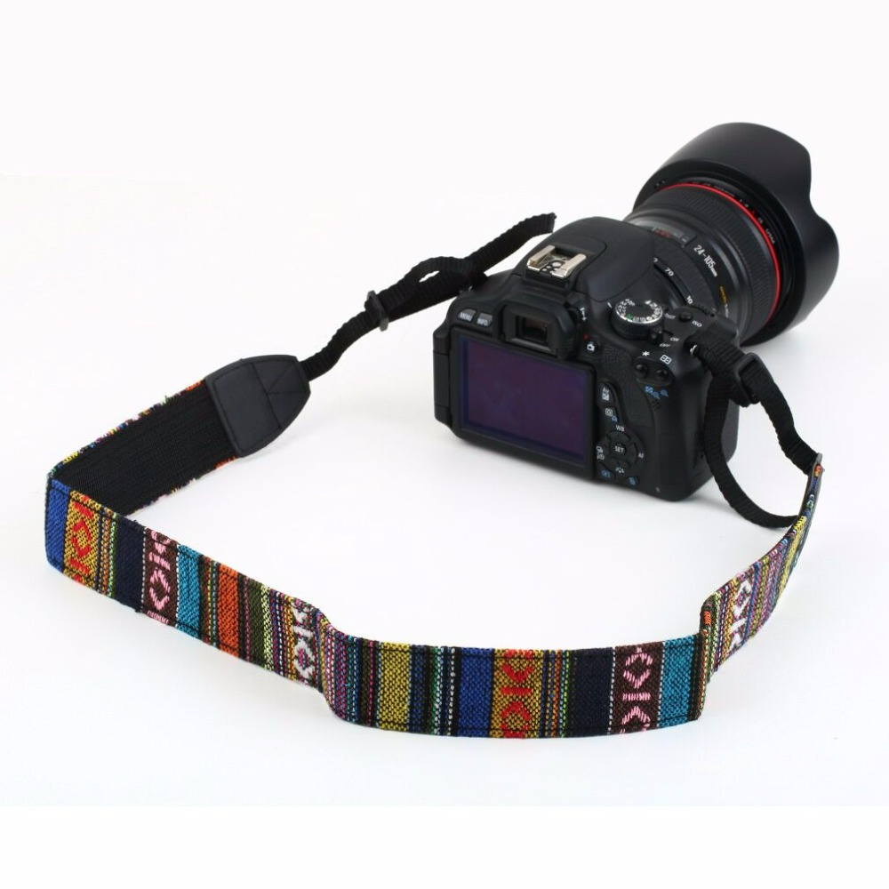 Sale 1set Vintage Camera Shoulder Neck Strap For Camera Strap for Nikon for Canon for Sony Drop Shipping