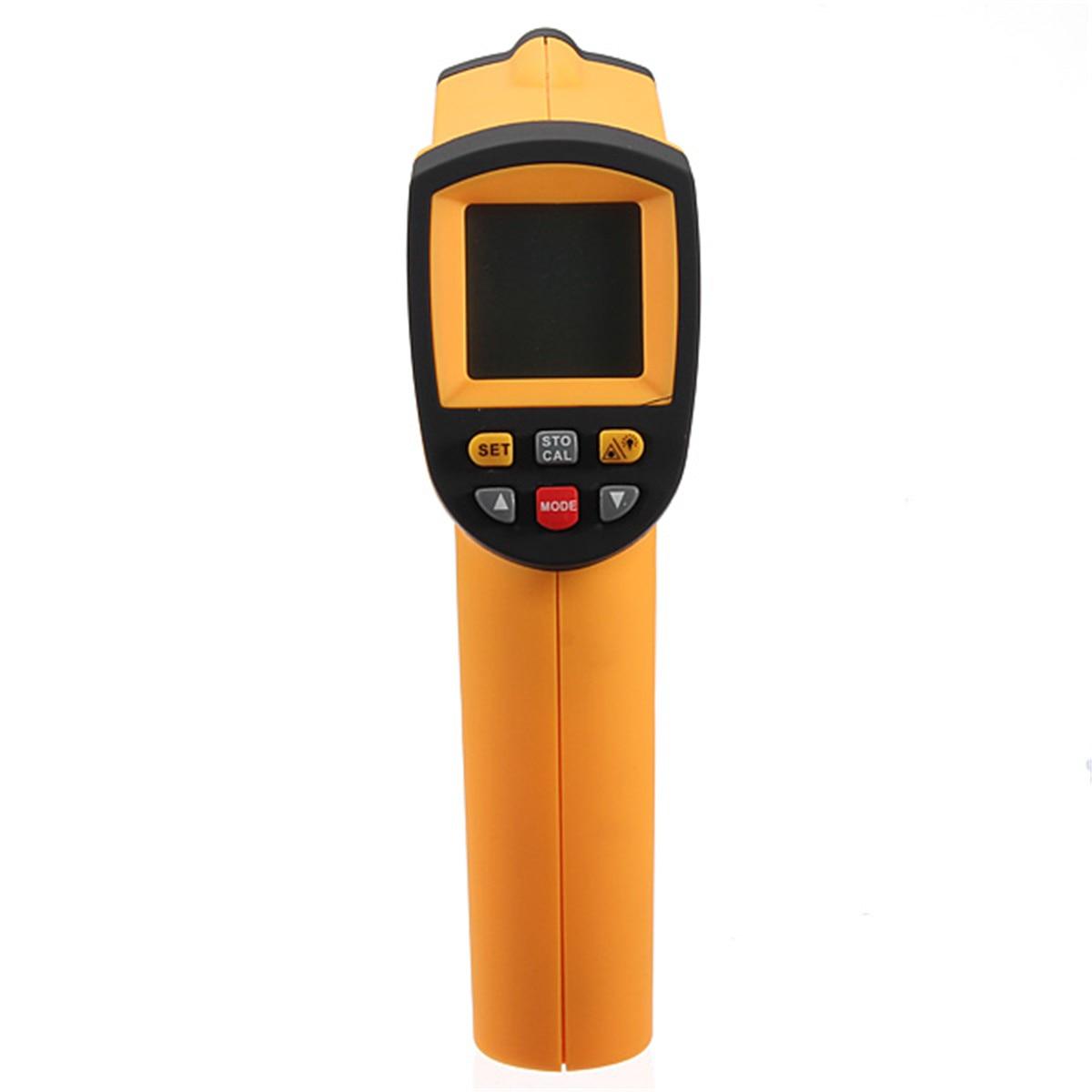 GM900 LCD Digital Infrared Thermometer Gun IR Laster Temperature Meter Non contact Handheld Pyrometer 50~900 Degree Centigrade