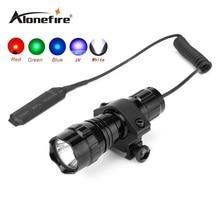 501A 1SET Mini LED Flashlight Tactical Flashlight waterproof LED Flashlight Torch Linternas+scope mount+remote pressure switch