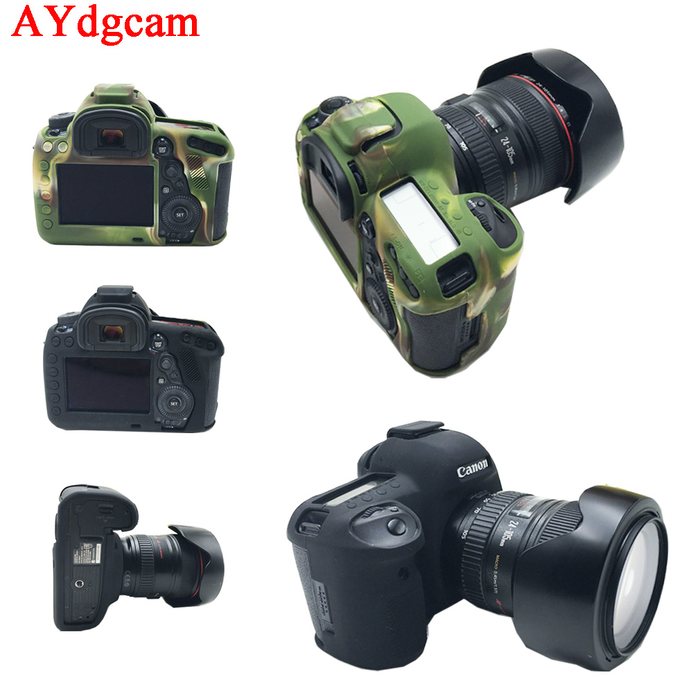 Nice Camera Video Bag For Canon 5D4 5D Mark IV Silicone Case Rubber Camera case for