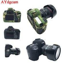 Nice Камеры Видео Сумка Для Canon 5D4 5D Mark IV Силиконовый Резиновый корпус чехол для Фотокамеры для 5D Mark 4 Защитный Чехол кожи