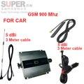 Para el coche booster GSM 900 Mhz del teléfono móvil amplificador de señal para el coche, sistema de visualización LCD GSM 900 mhz repetidor de señal repetidor GSM para el vehículo