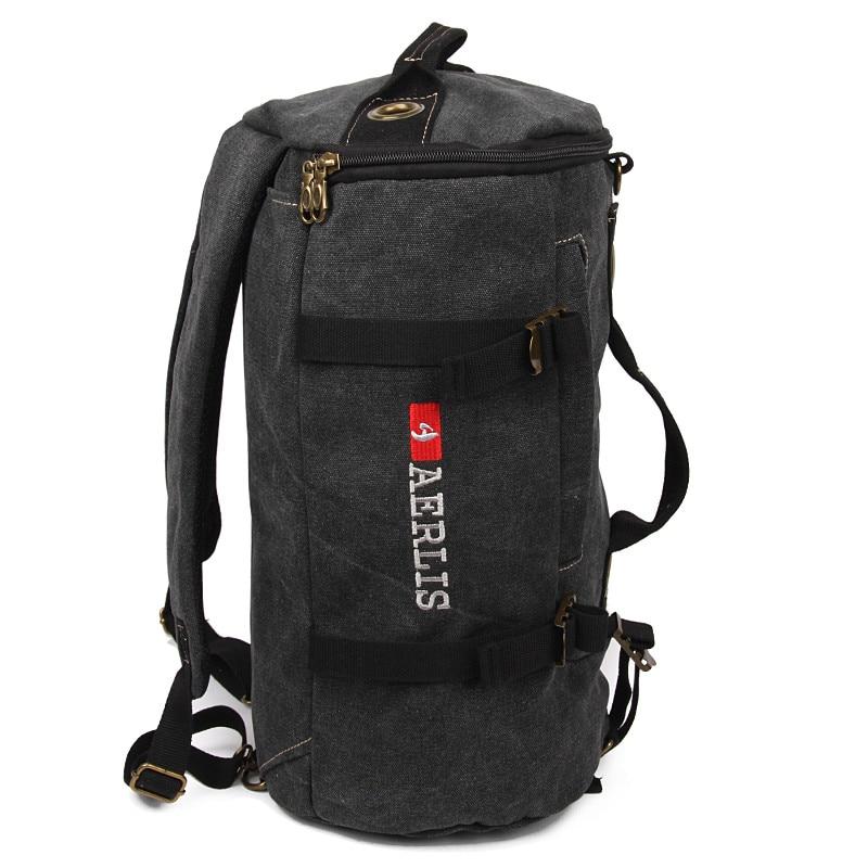 AERLIS coréen toile sac à dos seau sac pour voyage voyage sac à dos sacs à bandoulière loisirs collège nouveau I5703-in Sacs à dos from Baggages et sacs    2