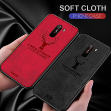 Deer Cloth Case For Xiaomi Pocophone F1 Mi Mix 2S Mi5X Max 3 Redmi 7 Note 7 6 Pro 5A 5Plus 6A Mi 9 SE 8 A2 Lite Phone Cover Case bonvan phone case for xiaomi mi a2 lite case cloth deer cover for xiomi mi 8 se explorer max 3 mix 2s case for redmi 6 6a pro