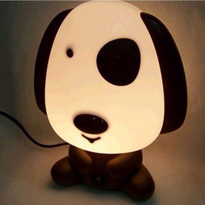 JLAPRIRA Doggy Night Light Baby Desk Table Lamp For Kids Funny Birthday Gift Animal Shape Bedroom Lighting