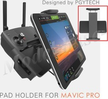hot deal buy pgytech dji mavic pro accessoriess 7-10 pad mobile phone holder aluminum flat bracket tablte stander parts rc drones quadcopter