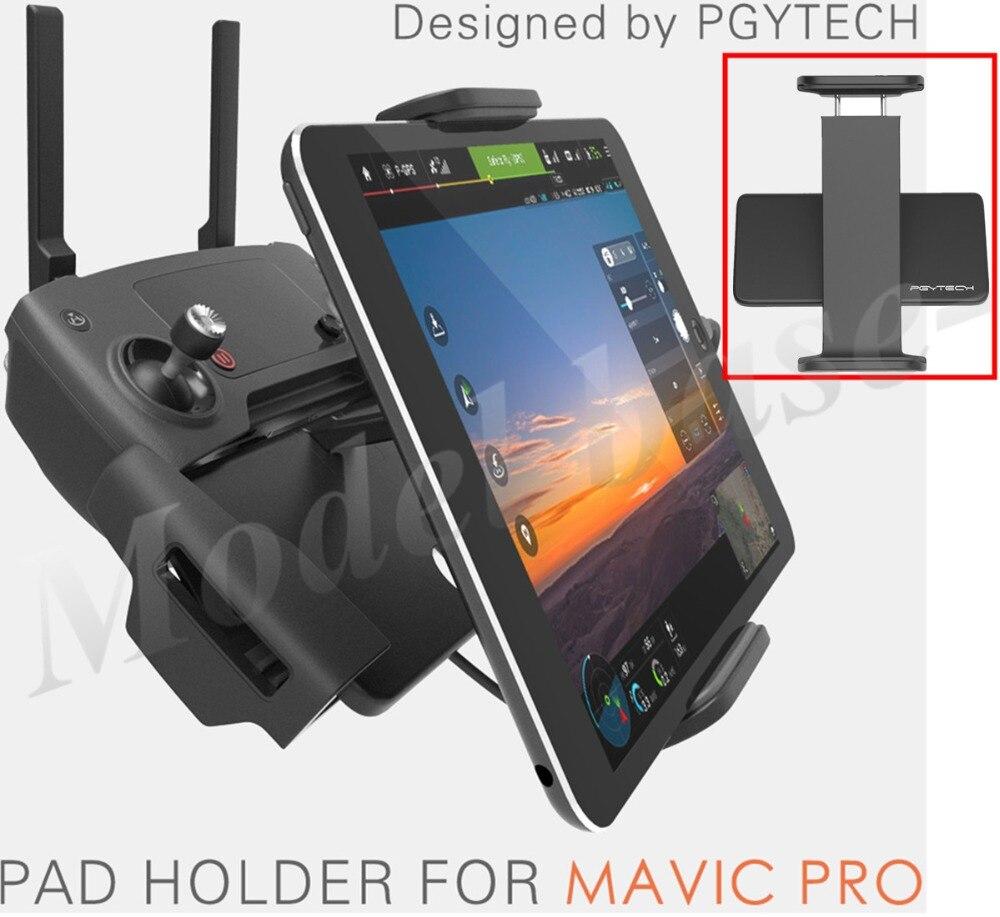 PGY DJI Mavic Pro/SPARK/MAVIC ARIA telecomando 7-10 Pad Supporto Del Telefono Mobile di alluminio Piatto staffa tablte stander Parts