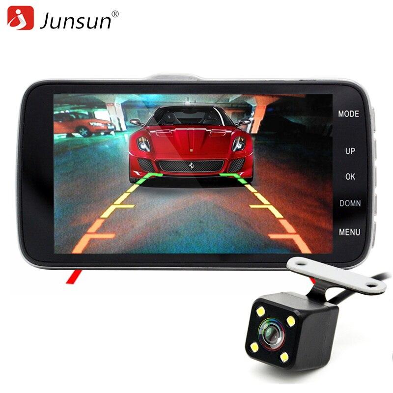 Junsun 4.0 IPS Car DVR Camera Dash Cam FHD 1080P Video Recorder with LDWS ADAS 170 degree Night Vision Dual Lens Auto DVRs