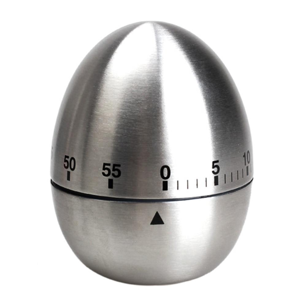 Timer Küche   Mechanische Egg Kuche Timer Kochen Timer Alarm 60 Minuten Edelstahl