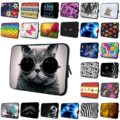 "Cute 7.0"" 8.0"" Inch Mini Pc Tablet Neoprene Bags Cases Universal 7.7 7.9 8 8.1 Inch Waterproof Nylon Shell Bags Free Shipping"