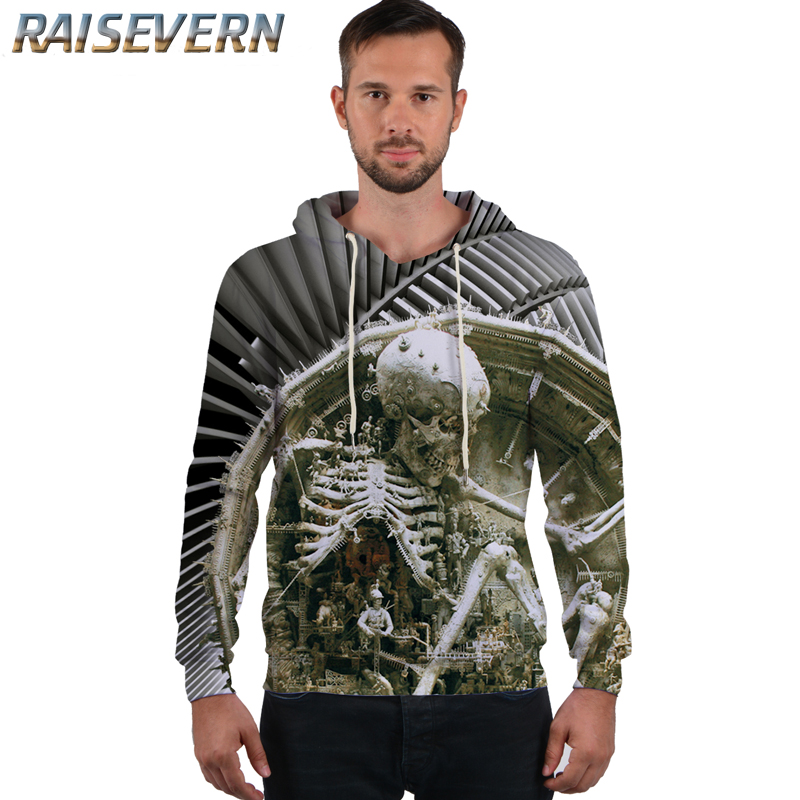 RAISEVERN 2018 Harajuku 3D Rose Skull Hoody Hoddies Men/Women Winter Harajuku Cute Streetwear Hip Hop Pullover Sweatshirt Tops