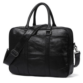 Genuine Cow Leather Laptop Bag
