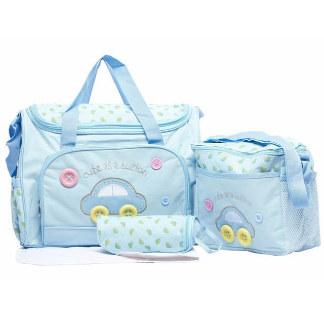 cd7f0270c042 4pcs set Diaper s Bags for Baby Durable Mother Wet Bag Fashion Mummy Bag