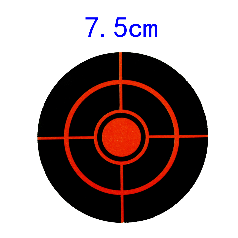Shooting Set Sticker Diameter 7.5cm Splatter Target Stickers Target Splatter New Hot Durable Useful