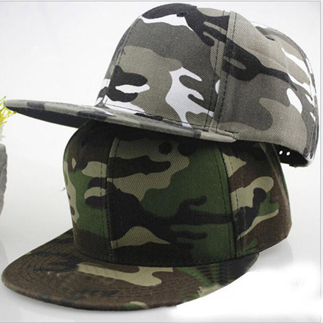 8160c24f Men Women Camouflage Baseball Cap Hip Hop Dance Hat Cap Green Grey Canvas  Dancing hats Young caps