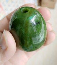 Яиц Йони натуральный нефрит серпантин яйца полированные хорофановый