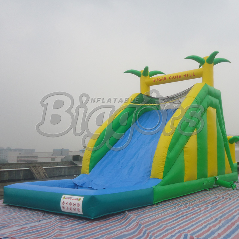 FREE SHIPPING BY SEA Popular Inflatable Water Slide Inflatable Toy For Kids popular best quality large inflatable water slide with pool for kids