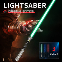 Звездные войны косплей световой меч светодио дный со световым звуком светодиодный красный зеленый синий сабля лазер Новый Upgrad световой меч светящийся свет люк