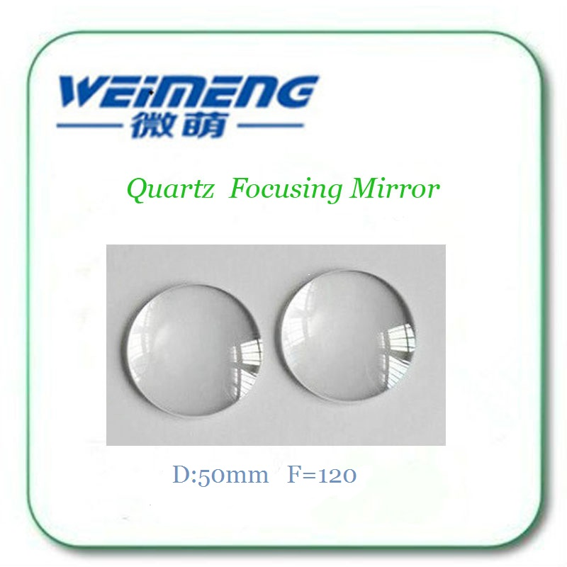 Weimeng brand Focus lens Quartz Focusing Mirror Dia:50mm  FL=120 glass for laser cutting machine optical instrumentWeimeng brand Focus lens Quartz Focusing Mirror Dia:50mm  FL=120 glass for laser cutting machine optical instrument