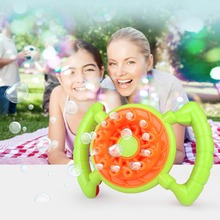 Automatic Bubble Machine Electric fan Blower Maker Kids Children Indoor Outdoor Parties Toys Creative polyporous Wedding Machine цены