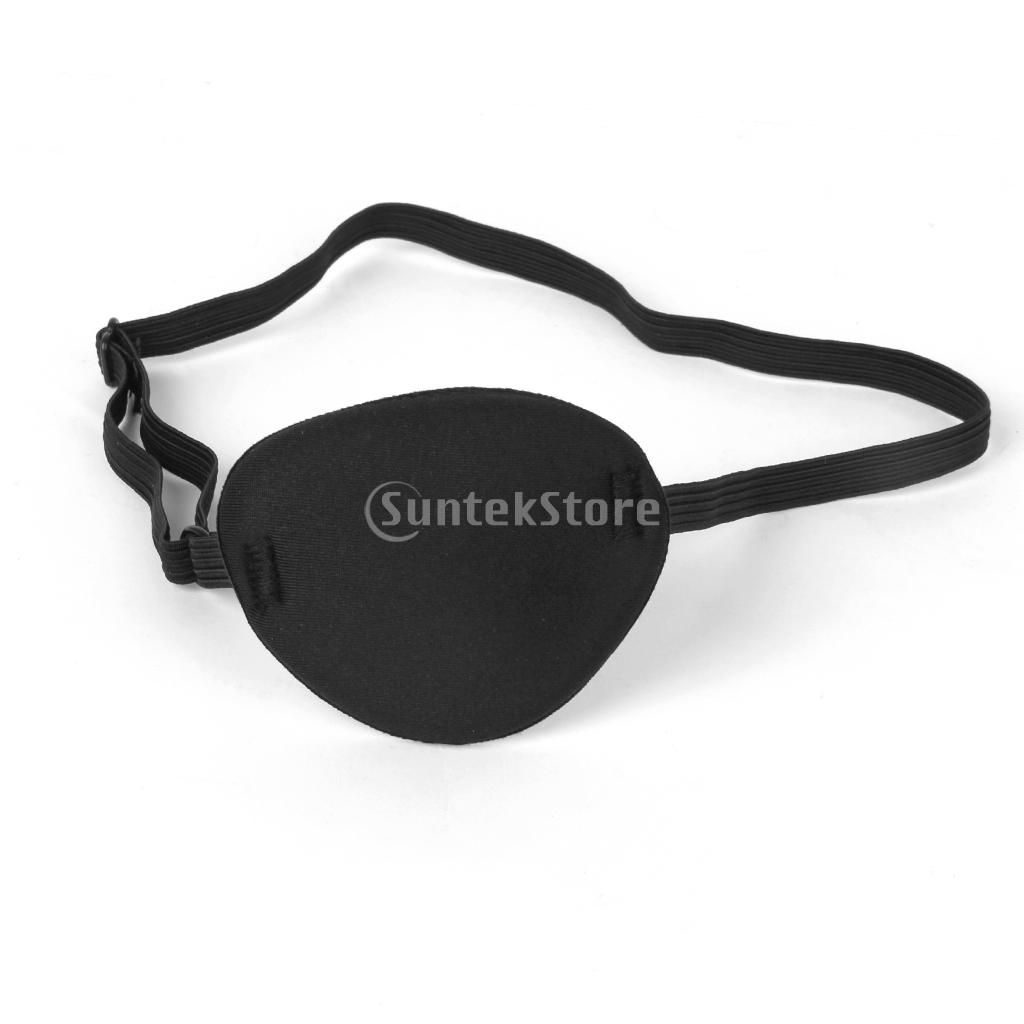 Pirate Eye Patch Mask Eyeshade Plain Fancy Costume for Adult Lazy Eye S Free Shipping