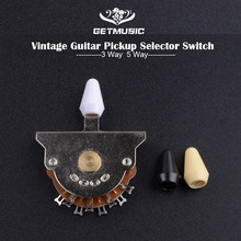 Винтажный 3-Way 5 Way гитарный переключатель пикапа селектор звукоснимателя гитарный переключатель музыкальные гитарные части