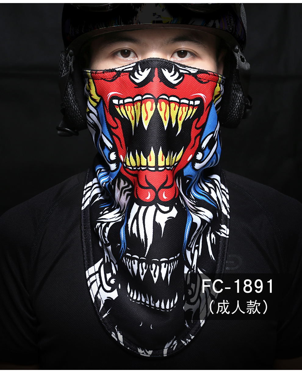 VECTOR Skiing Mask Half Face Winter Skiing Thermal Printed Mask Men Women Warm Headwear Snow Scarf Windproof Cycling Mask