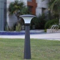 Открытый Садовая лампа LED свет 220 V 7 W алюминьный длинный стебель пейзажные лампы освещение садовой дорожки огни простой трава осветительный