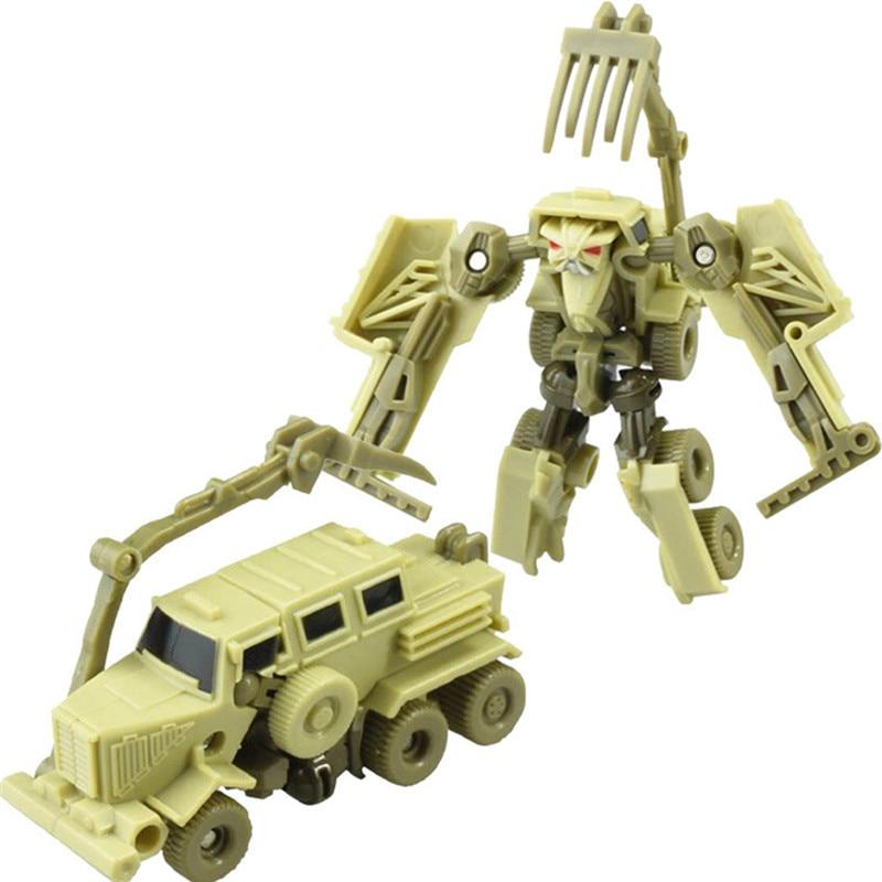 Transformation Mini Robot Car Toys For Children Action Toy Figures Plastic Education Deformation Boys Gifts in Action Toy Figures from Toys Hobbies