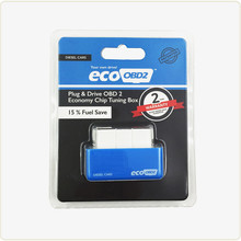 New EcoOBD2 Diesel Cars Economy Chip Tuning Box Plug and Drive 15 Fuel Save