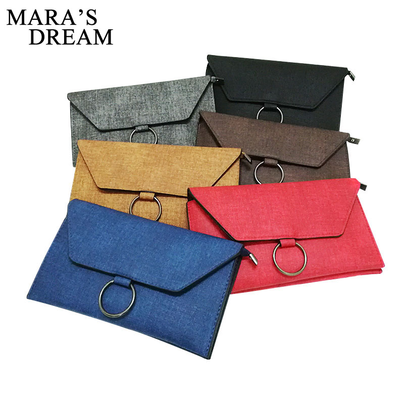 Mara's Dream Envelope Bag Fashion Small Women PU Leather Flap Crossbody Bag Shoulder Bag Messenger Bag Day Clutch Handbag Purses