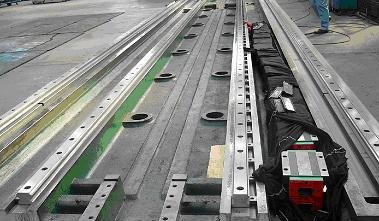 1500mm  linear guide rail   HGR20  HIWIN  from  Taiwan free shipping to france hiwin from taiwan linear guide rail