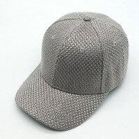 QPALCR 2018 New Summer Men Womens Baseball Caps Linen Striped Print Outdoor Sport Golf Sun Snapback