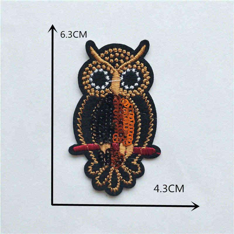 Nowe zdobienie cartoon zwierząt kot pies motyl klej termotopliwy łatki żelazko na naszywki na ubrania odznaka DIY akcesoria odzieżowe