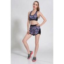 New Arrive Women s Yoga Sets Top Quality Running Shorts Sports Bra Yoga Suits Set Fitness