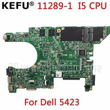 Kefu 11289-1 placa-mãe para dell 5423 placa-mãe dell inspiron 14z-5423 motherbard i5 cpu original teste notebook(China)