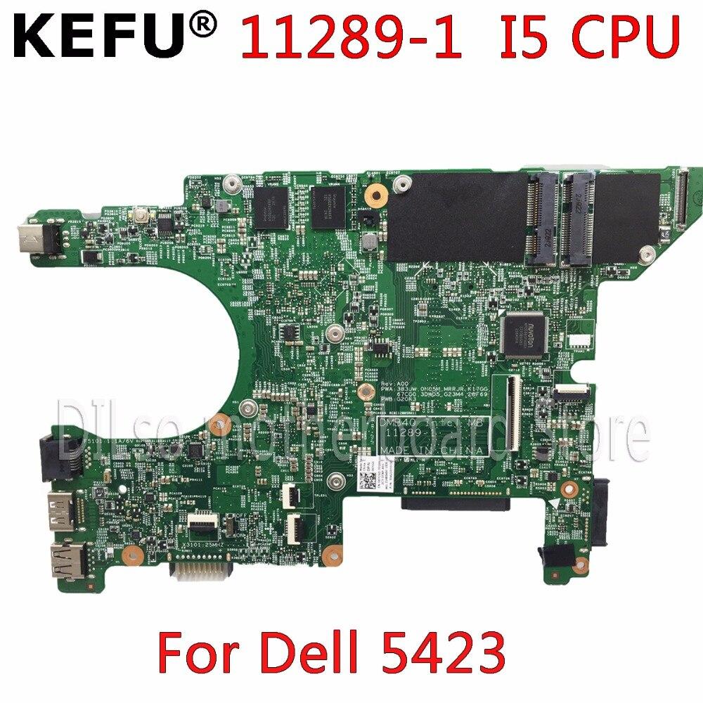 KEFU 11289-1 motherboard for dell 5423 motherboard dell Inspiron 14Z-5423 motherbard I5 cpu original Test notebook