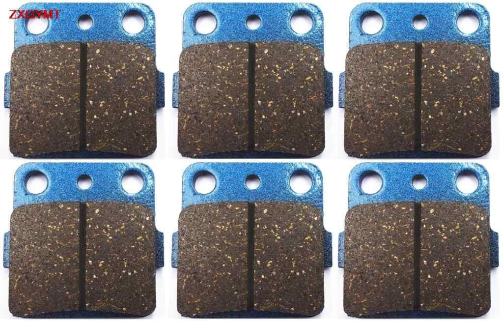 Sintered Bantalan Rem Set Fit Honda TRX 450 TRX450 EX Sportrax 2001-2005 Depan Belakang 05 01 04 03 02